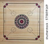 carrom  also known as karrom ... | Shutterstock . vector #575859169