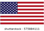 usa flag | Shutterstock .eps vector #575884111