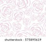 pattern with rose blossoms on a ...