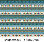 seamless texture  american... | Shutterstock .eps vector #575898901