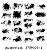 grunge paint vector. painted... | Shutterstock .eps vector #575900941