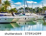 luxury boats anchoring at the...