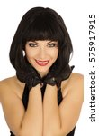 pretty woman   Shutterstock . vector #575917915