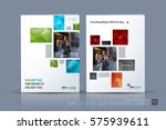 business vector template.... | Shutterstock .eps vector #575939611