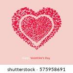 twin heart | Shutterstock .eps vector #575958691