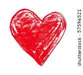 heart | Shutterstock .eps vector #57596521