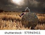 incognito warrior going forward ... | Shutterstock . vector #575965411