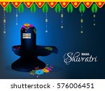 happy shivratri  vector... | Shutterstock .eps vector #576006451