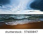 Beautiful Beach And Dramatic...
