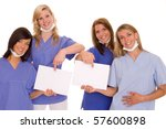some doctors | Shutterstock . vector #57600898