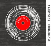 illustration of a musical... | Shutterstock .eps vector #576015961