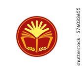 school logo design. | Shutterstock .eps vector #576033655