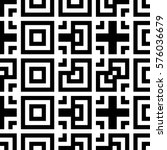 vector seamless pattern.... | Shutterstock .eps vector #576036679