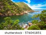 tsitsikamma national park south ...   Shutterstock . vector #576041851