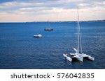 Catamaran Sea