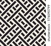 interlacing lines maze lattice. ... | Shutterstock .eps vector #576090799