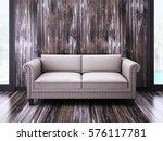 3d rendering modern loft villa... | Shutterstock . vector #576117781