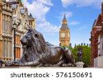 London Trafalgar Square Lion I...