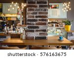 trendy restaurant  cafe | Shutterstock . vector #576163675