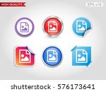 picture file icon. button with...