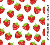 abstract strawberry background | Shutterstock .eps vector #576193525