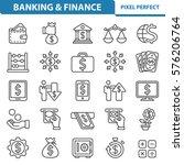 banking   finance icons....   Shutterstock .eps vector #576206764