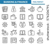 banking   finance icons.... | Shutterstock .eps vector #576206791
