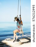 outdoors lifestyle fashion... | Shutterstock . vector #576212995