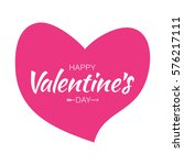happy valentines day... | Shutterstock .eps vector #576217111