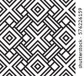 black and white geometric... | Shutterstock .eps vector #576226159