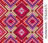 vector seamless pattern ... | Shutterstock .eps vector #576226171
