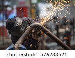 turkey   june 11 2014  in the... | Shutterstock . vector #576233521