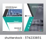 brochure  flyer  leaflet  cover ... | Shutterstock .eps vector #576233851