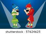 street theater | Shutterstock .eps vector #57624625