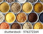 background of many grains and... | Shutterstock . vector #576272164