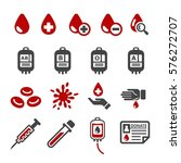 blood icon | Shutterstock .eps vector #576272707