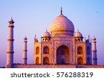 magnificent taj mahal in agra ... | Shutterstock . vector #576288319