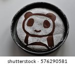 Panda Made With Sugar On A...