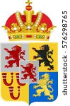 coar of arms of limburg is the... | Shutterstock .eps vector #576298765