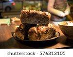 pound cake street food | Shutterstock . vector #576313105
