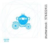 carriage  icon vector design. | Shutterstock .eps vector #576322411