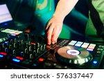 professional music equipment... | Shutterstock . vector #576337447