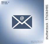 mail icon. vector | Shutterstock .eps vector #576363481