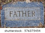 Grave Marker Named Father With...