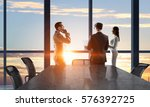 businessteam facing new day .... | Shutterstock . vector #576392725