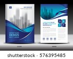 annual report brochure flyer... | Shutterstock .eps vector #576395485