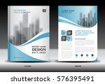 annual report brochure flyer... | Shutterstock .eps vector #576395491