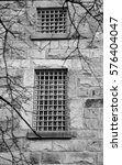 old jail windows and bars | Shutterstock . vector #576404047
