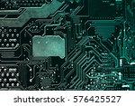 circuit board. electronic... | Shutterstock . vector #576425527