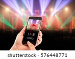 live video streaming concept...   Shutterstock . vector #576448771